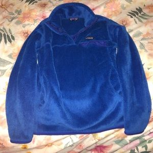 Blue Patagonia Snap-T Pullover
